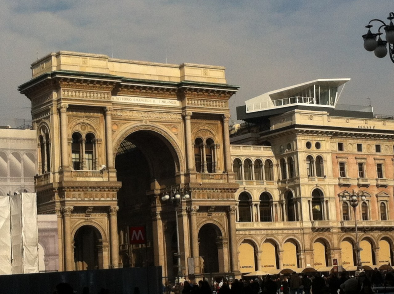Entrada Galleria Vittorio Emanuele