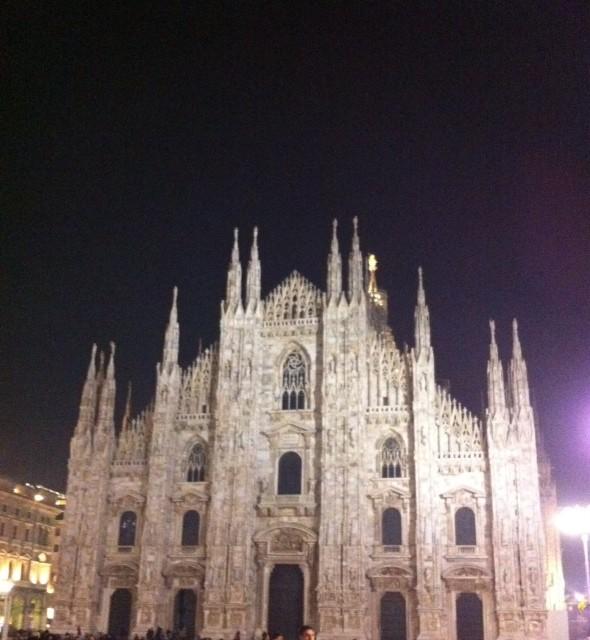 El Duomo de noche