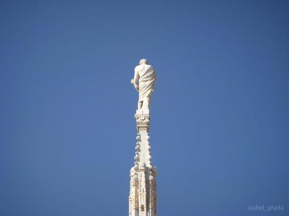 """""""Guglie""""y Estatua del Duomo"""
