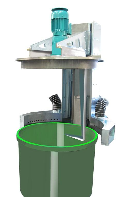 Behälterreinigungsmaschine