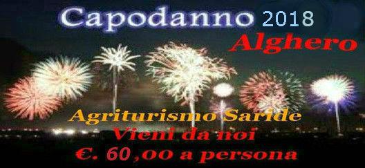 Offerte Capodanno 2017 Alghero Agriturismo Saride