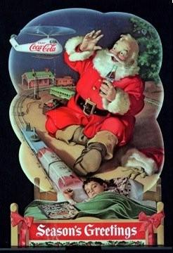 サンタクロースの赤い衣装のルーツはコカコーラ