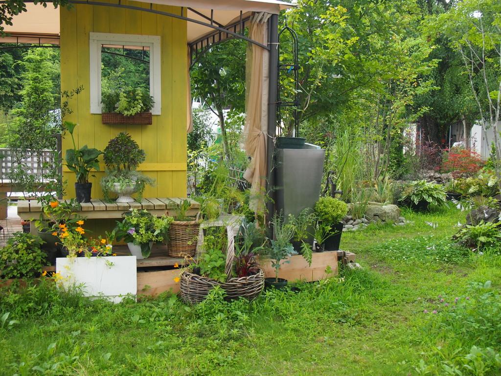 gardenアーティストが作ったというお庭 おとぎ話みたい