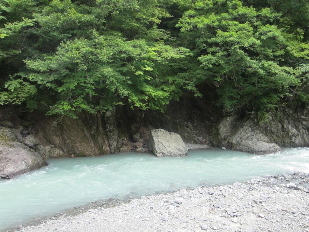 川の水かさが増しているらしいけど綺麗^^