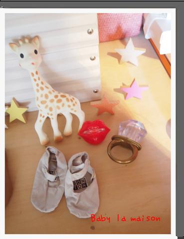 パリの定番キリンのソフィーの歯固め^^  リング型の歯固め ボントンのルームシューズ^^ 唇やひげのおしゃぶり^^  ママが大好きなkikoのおもちゃ☆^ etc...