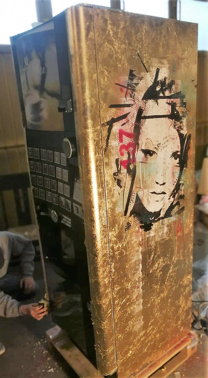 Kunstautomat Lux - gold leaf