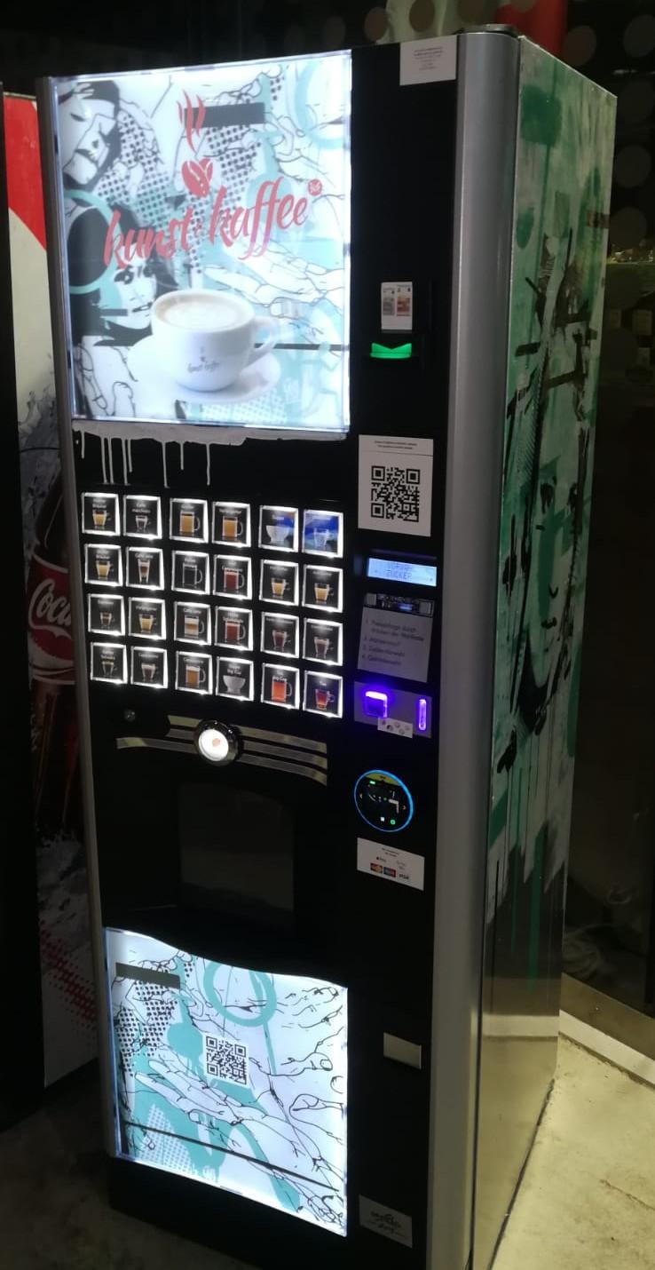 Lifestyle Kaffeeautomat von MG - vorne