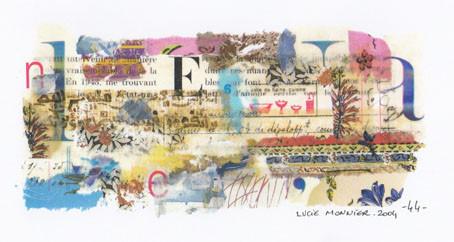 les lettres 2 (19 x 11 cm)