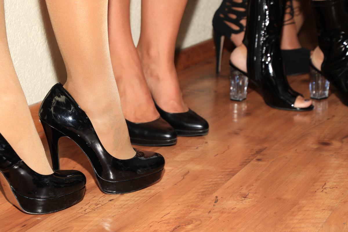 Frauen Geburtstagsparty Catwalk