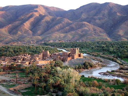 Randonnée au sur Maroc