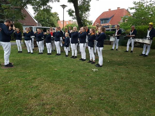 Lampionfest an der Ochtum in Bremen, August 2019.