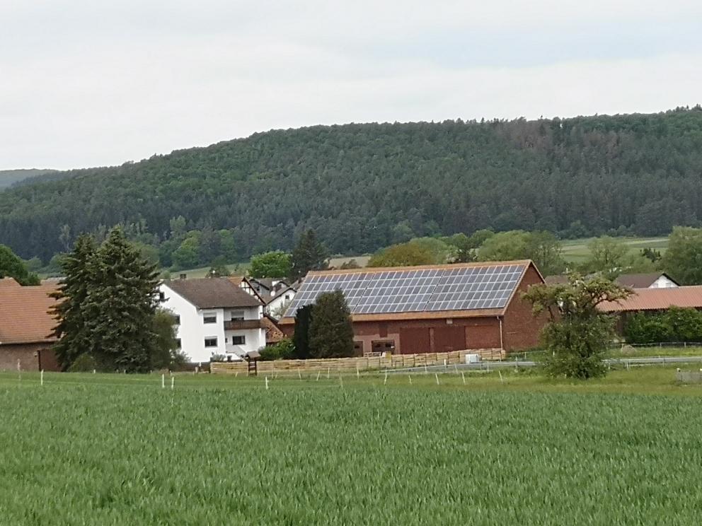 Unser neues zu Hause in Treisbach, Mai 2020.