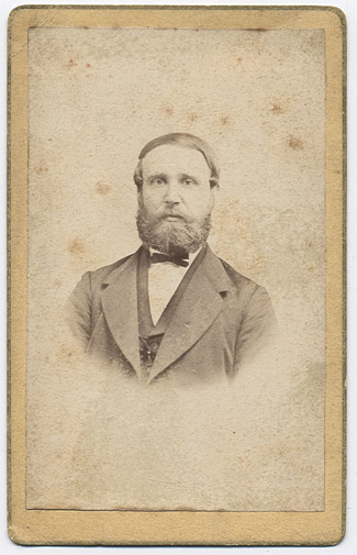 Adolph Krawinkel ca. 1870   (geb. 1.8.1840)