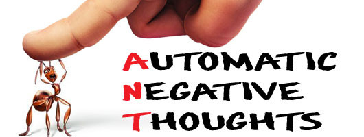 Eliminate automatic negative thoughts killing the ants