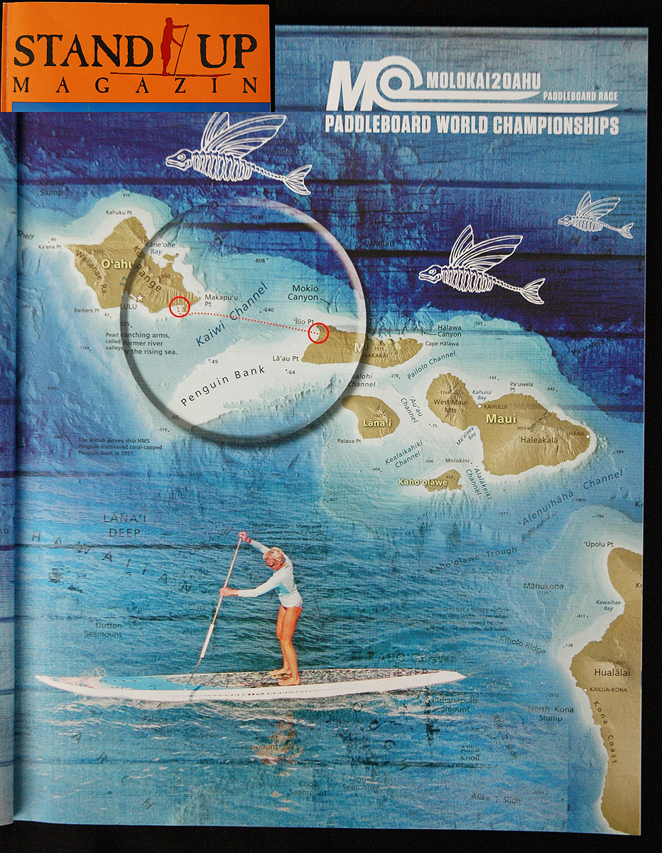 Article in Standup Mag about Molokai2Oahu 2013