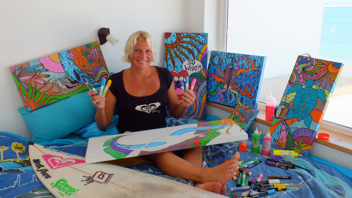 with some of my paintings 2011