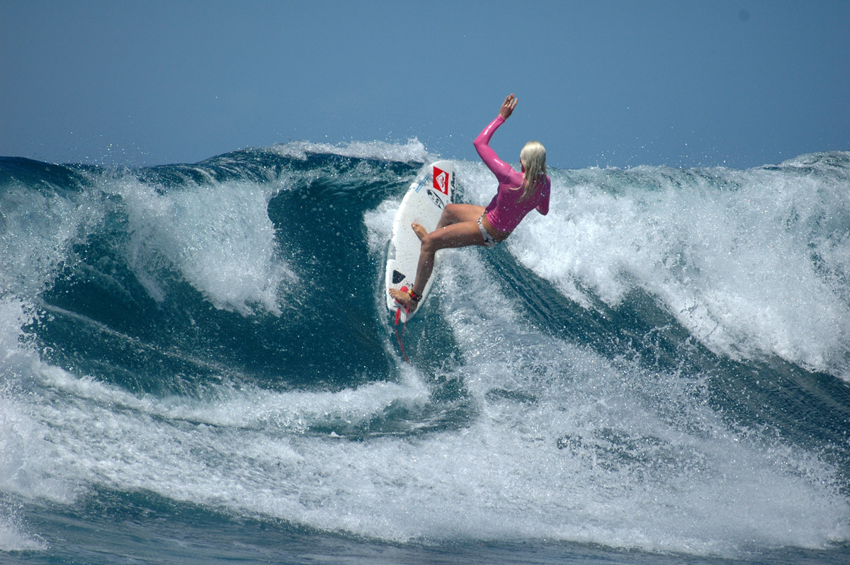 surfing Northshore Fuerteventura