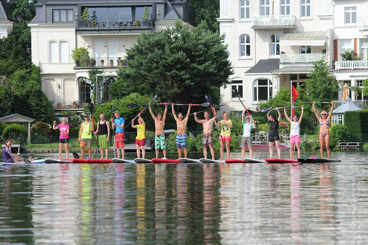 Sup Clinic with the Chiemsee Crew 2014