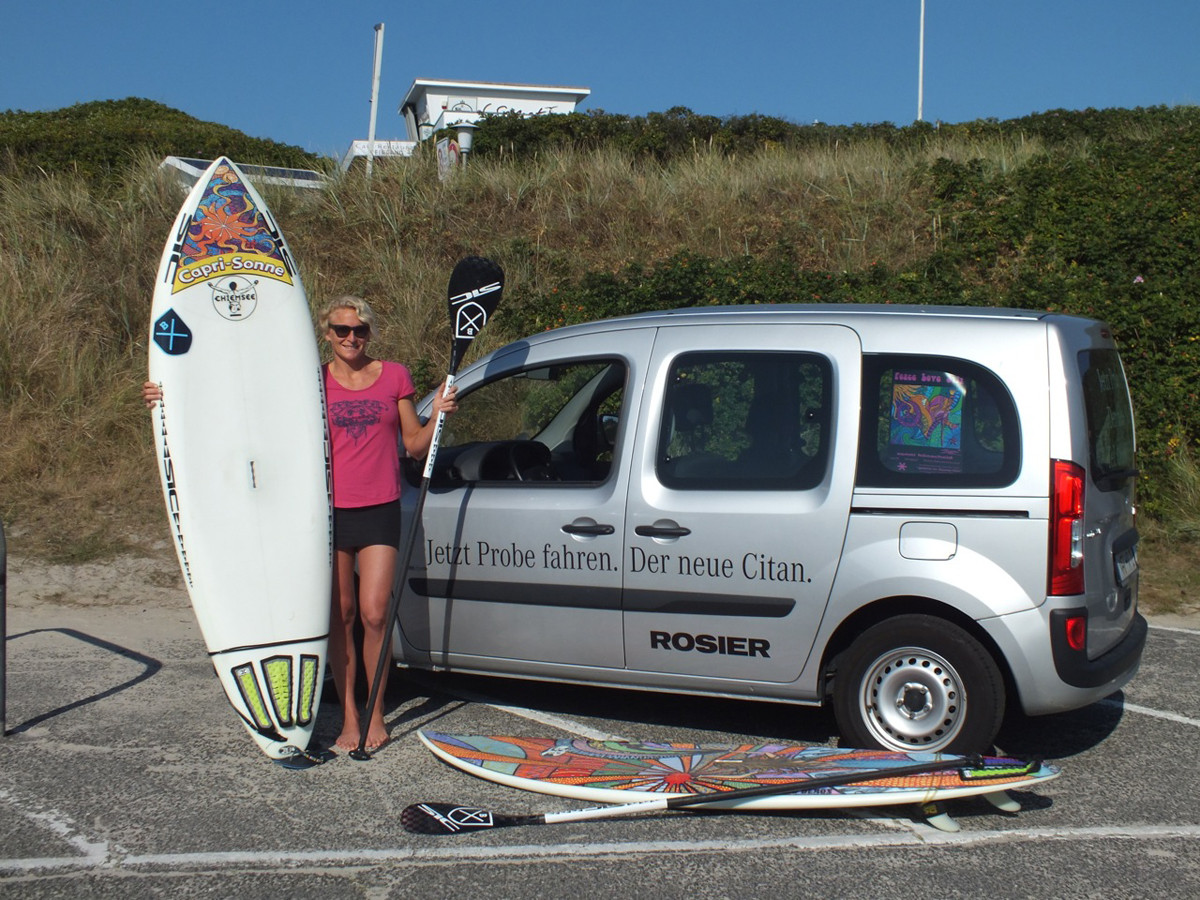 thank you Autohaus Rosier for the nice Mercedes during summer 2013 on Sylt