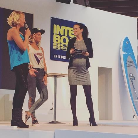 on stage Interboot 2015
