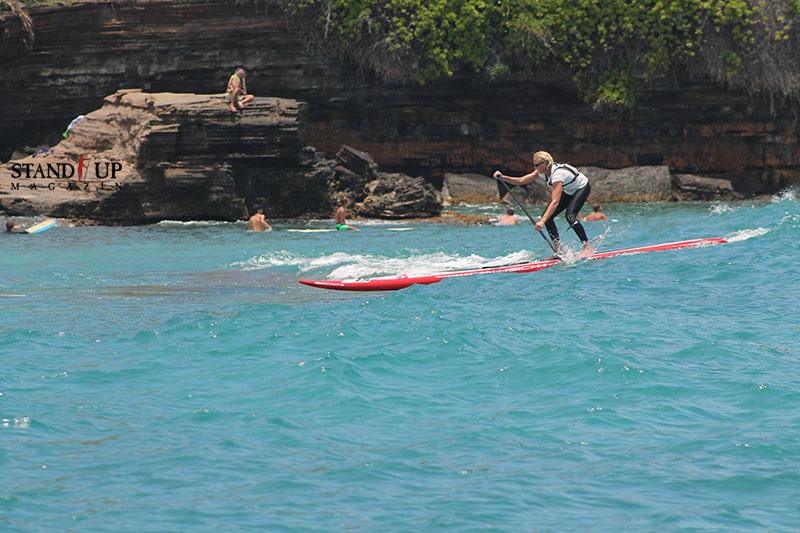 chinawalls and a taste of victory, Molokai2Oahu 2014, thank you SIC for the great board!!!