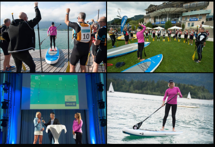 sup clinics for Allianz , Austria 2015