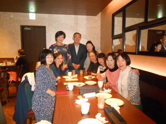 10月24日 公開試演会・ひまわりの郷   終了後の昼食会