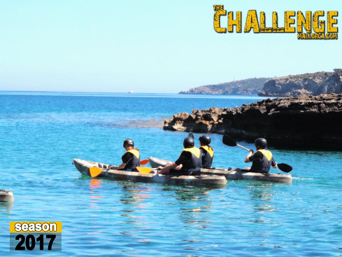 Kayaking in Alcudia The Challenge Mallorca