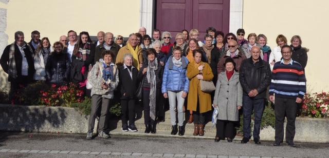 Rencontre à Sonnaz dans le cadre des rencontres annuelles Chambéry/Turin pour fédérer les jumelages avec le Piémont.