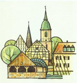 Marktplatz und Kirche von Gernot Polak