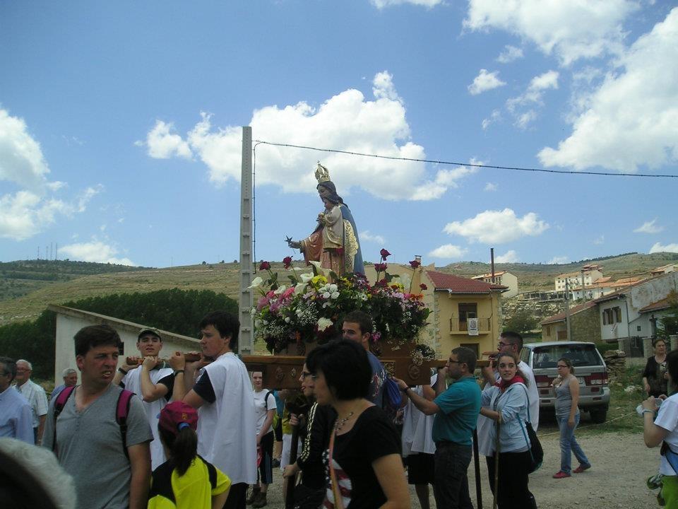 La Virgen en Mosqueruela