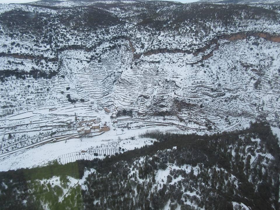 Nevada. Vista aérea. Enero-2017