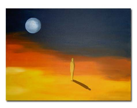 desert night - 80x60