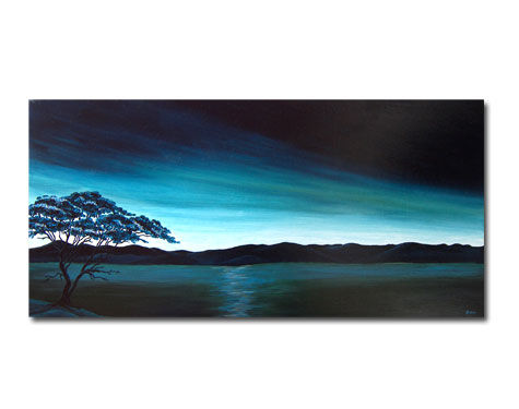 attraction of the lake - 80x40