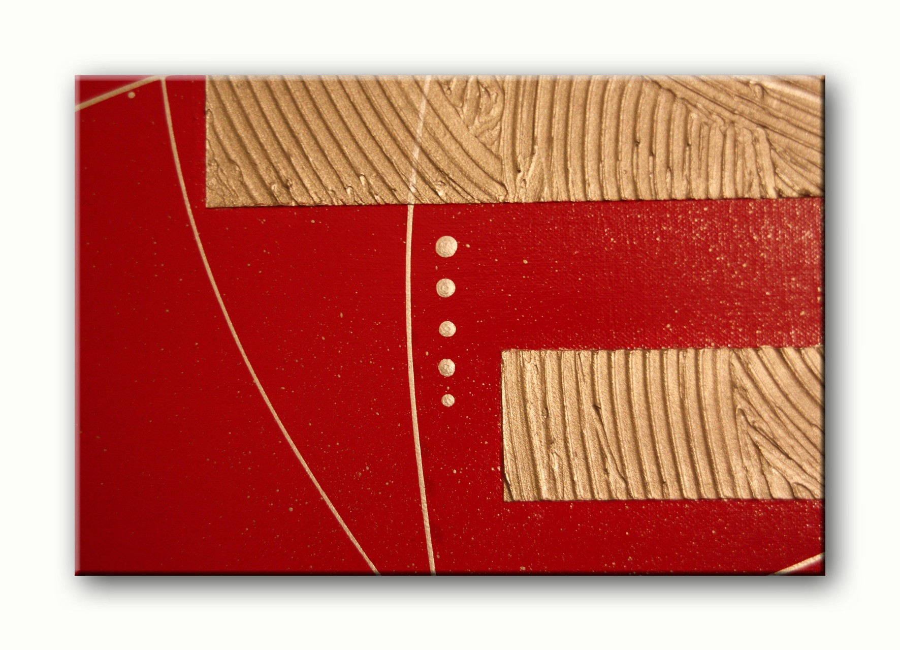 red an gold - detail