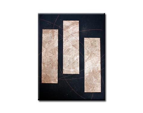 copper stripes - 70x100