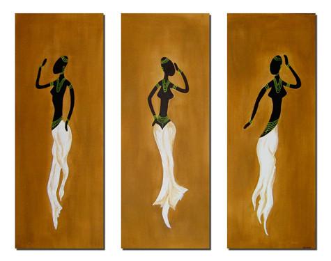 african trio I