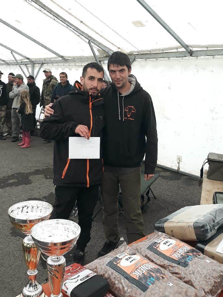 1er: Benay Vivien et Mouellic Aurélien