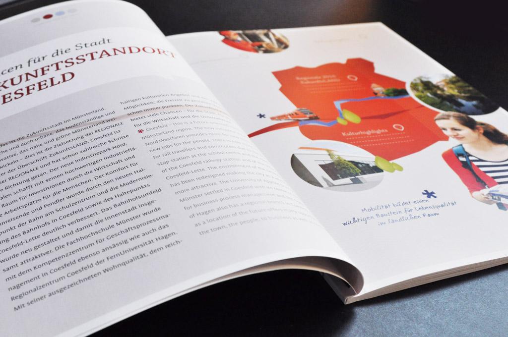 Gestaltung und Druck von Magazinen für Städte und Kommunen - Druckerei Satzdruck Coesfeld