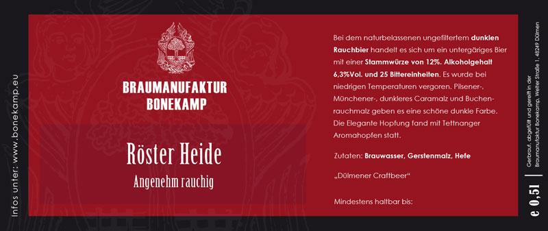 Digitaler Etikettendruck für Dülmener Brauerei