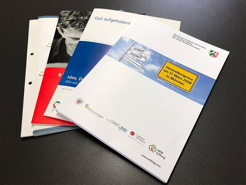 Angebotsmappen Und Präsentationsmappe Drucken Satzdruck