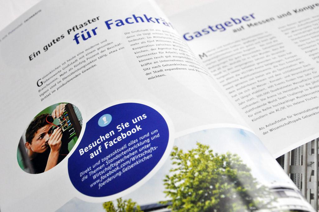 Gestaltung und Druck von Magazinen für Städte und Kommunen - Satzdruck Coesfeld