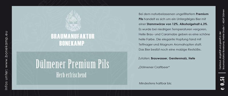 Digitaler Etikettendruck für Brauerei aus Dülmen