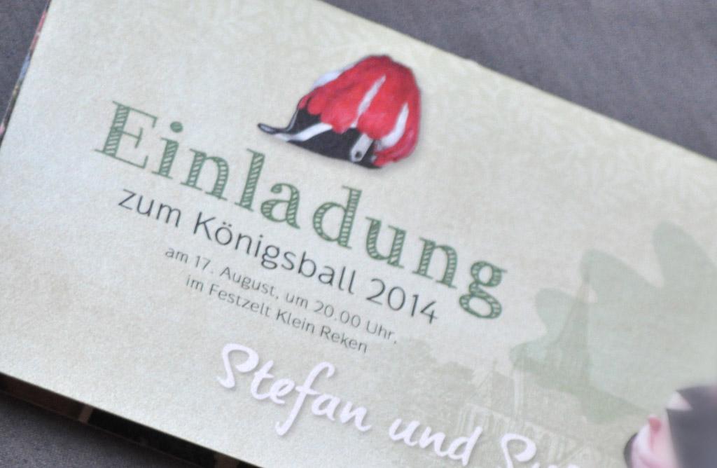 Einladungskarten aus der Druckerei Satzdruck