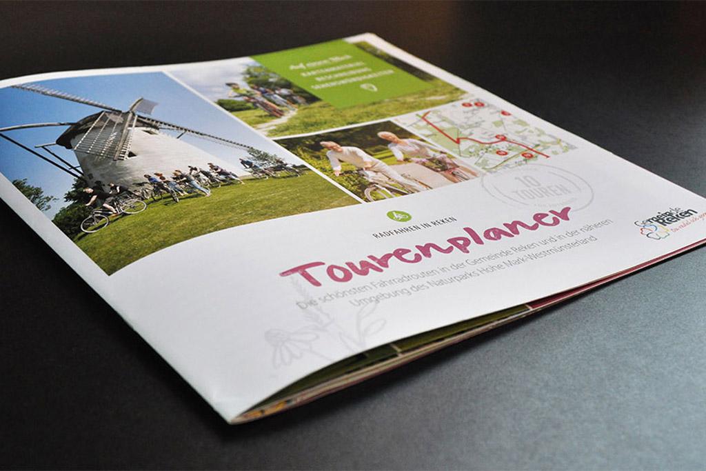 Tourismus-Broschur by Satzdruck im Münsterland