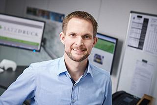 Nico Karel - Medienfachwirt und Geschäftsführer bei Satzdruck in Coesfeld