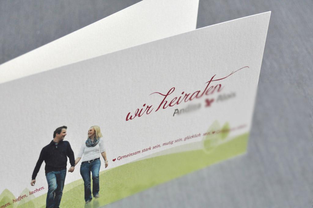 Einladungskarten von Satzdruck