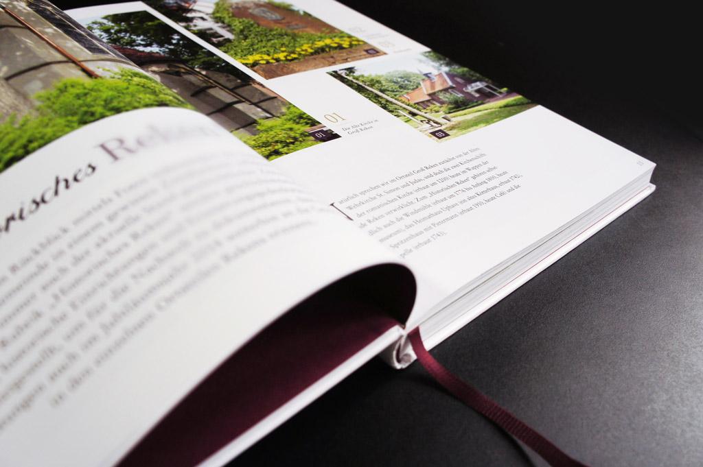 Gestaltung von Büchern und Chroniken