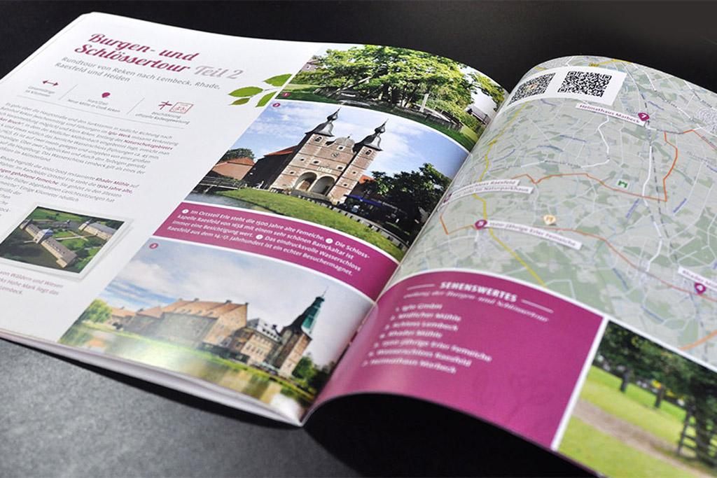 Tourismus-Broschur by Satzdruck
