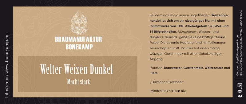 Etikettendruck im Digitaldruck – Dülmener Braumanufaktur Bonekamp und Satzdruck